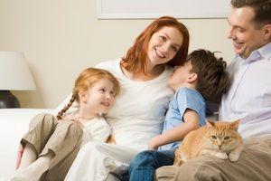 Zvieratko v rodine zlepšuje náladu
