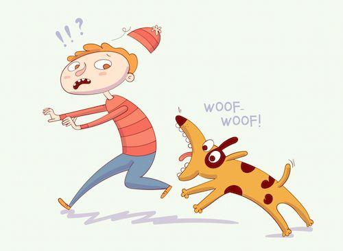Čo robiť ak pes útočí...