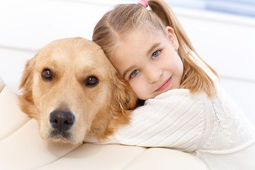 Aby deti neprestal pes baviť